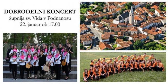 Dobrodelni koncert v Podnanosu