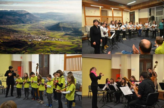 Tamburjaši na Območnem srečanju tamburaških skupin in orkestrov v Skriljah