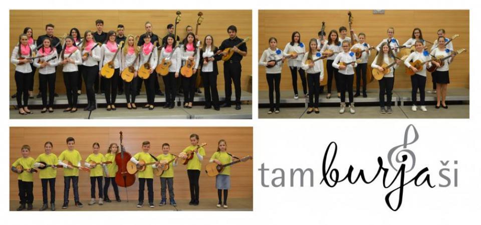 Tamburjaši na 37. srečanju tamburašev in mandolinistov Slovenije