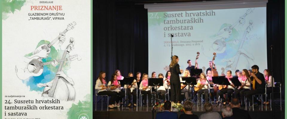 24. srečanje hrvaških tamburaških skupin in orkestrov